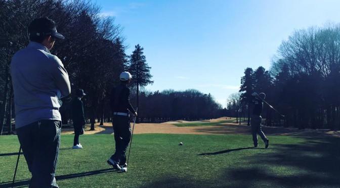 新年ゴルフ@太平洋クラブ江南コース